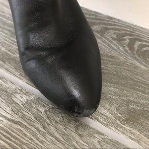Guess Shoes - Guess Gwriselan black leather boots - size 9m